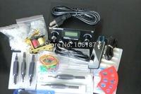 Beginner tattoo starter kits  Tattoo  machines gun  power supply disposable needle pedal tips For Tattoo Kit Beginner supply