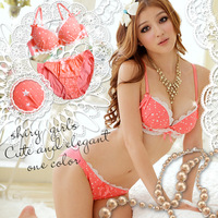 2014 ensemble soutien gorge brand sexy cute women Japanese Cowgirls underwear lace push up panties and brassiere lingerie sets