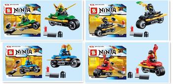 6pcs/lot Ninjago Series Super Hero Avengers Action Figures Classic Toys Building BlocksToys Learning&Education Christmas Gift