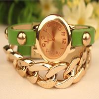 2014 new hot women watches gilded table with stylish alloy chain bracelet bracelet watch wholesale quartz female form