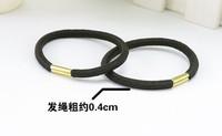 High quality Whosale hair accessory headband handmade hair rope black rubber band hair accessory Hair ring Children,Girl,women