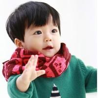 5pcs/lot New Lovely Cute Cat Kids Winter Scarf Chirldren Boys Girls O Ring Knitted Scarves Baby Child Neck Warmer Gift  #1063