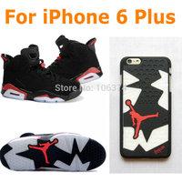 3D PVC Rubber AJ4 AJ6 AJ7 Jordan Case for iPhone 6 Plus Shoe Sole Bottom 3D Back Cover for iPhone 6+