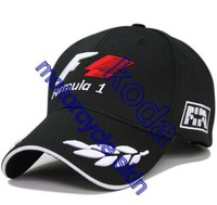 F1 sport hat formula 1 black baseball cap motorcycle race team driver hats hip hop cap