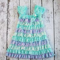 2014 VIntage Baby Girl Dress Elegant Vintage Girl Dress Fiery Temper Newborn Girl Clothing Liven Tutu Dress Free Shipping