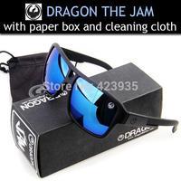 New Arrival 3pcs Hot Brand Sunglasses Dragon the JAM With Original Pack Skiling Sunglasses Men fashion sunglasses Sport Sunglass
