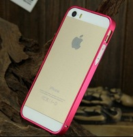 Free shipping Good quality Metal Bumper For Apple iphone 5 5S Case