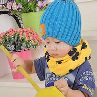 5pcs/lot Children's Winter Warm Scarf Children Baby Boys Girls Knitted O-Scarf ,Kids Warm Neck Scarf  Wholesale #1067