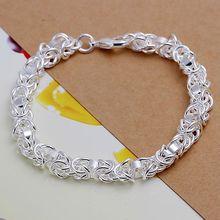 H073 925 sterling silver bracelet, 925 sterling silver fashion jewelry Shrimp Lock Bracelet /abxaitea fzpaoqwa