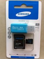 wholesaleFREE shipping memory card micro sd card 4gb 8gb 16GB 32 GB 64GB class 10 microsd TF Card + Card Reader