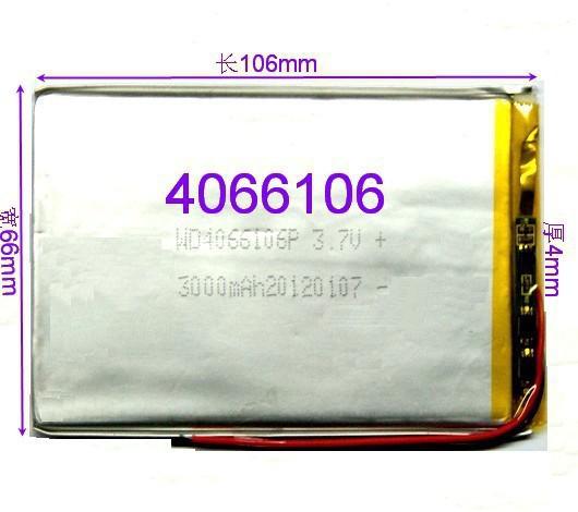 Планшетная батарея Onda VX610W VX610 VX610W + /VX610a intego vx 135hd