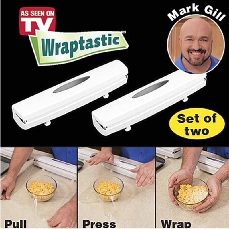 Потребительские товары 1 plastic wrap cling film cutter plastic wrap machine supermarket vegetables and fruits cling film da baoji plastic film cutting machine 220v mw 450 1pc