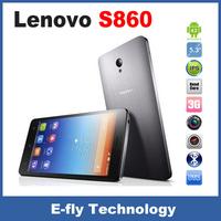 "original Lenovo S860 3G Smart Phone,MTK6582 Quad Core 1.3GHz 1GB RAM 16GB ROM 5.3"" IPS HD 1280x720 4000mAh Battery 8.0MP Camera"