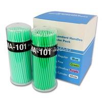 Professional Lint Free Micro Brushes Eyelash Extension Tools 100pcs Disposable False Eyelash Micro Brush Swab Applicators Brush