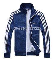 2014 spring Autumn new men's sports jacket Men Fashion Thin Windbreaker Zipper Coats Casual jackets Free Shipping!