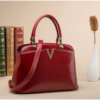 2015 Fashion Joker Bag Women PU Leather  Handbag Vintage Female Shoulder Bag New Crossbody Bag Hot Messenger Bag Fresh Tote