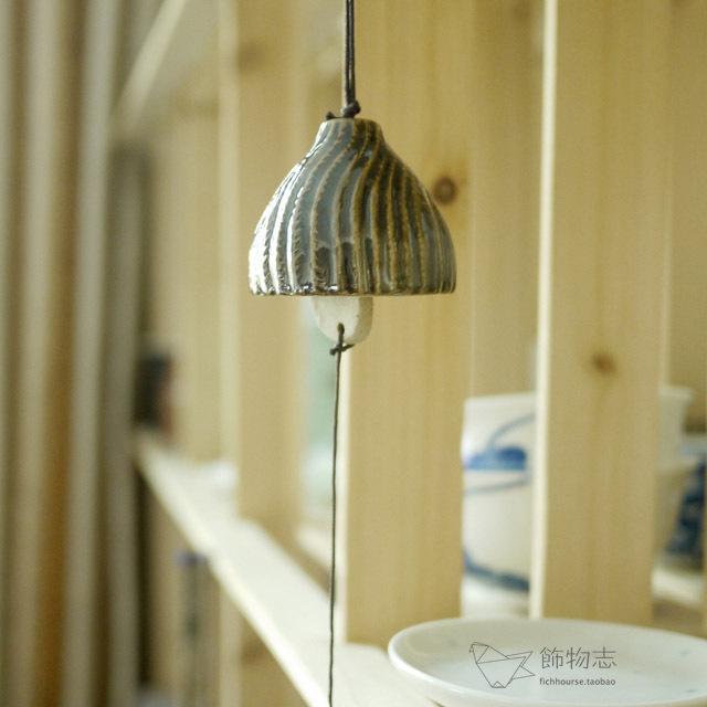 Ornaments Chi | hersheys chocolate Japanese wind chimes handmade pottery half- space home decoration ceramics(China (Mainland))