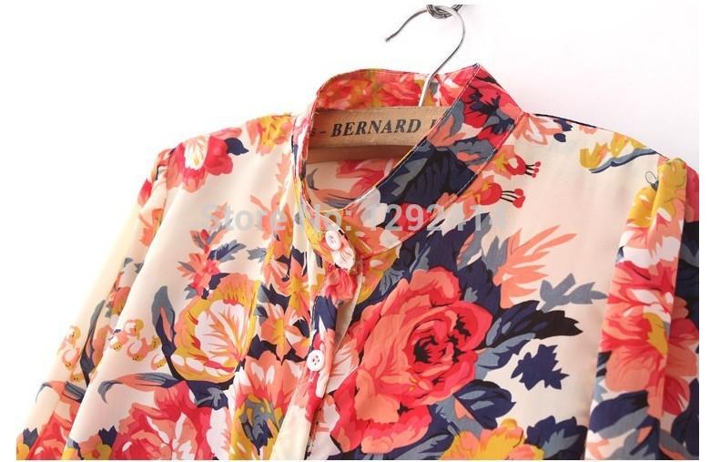 Блузки С Цветочным Принтом