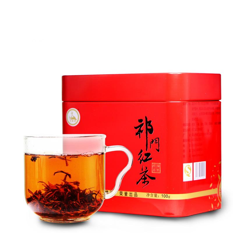 100g 2014 yr new handmade Keemun black tea Mao Feng tea Supergrade Anhui spring tea Free shipping(China (Mainland))