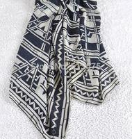 Free Shipping 2014 New Fashion single geometric pattern twill cotton Large scarf shawl Ms. Winter ladies' scarves