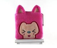 Cartoon Animals Colorful Corduroy Coin Purse Kawaii Pouch Bag Candy Color Corduroy Money Bag Coin Change Wallet Mixed Sale