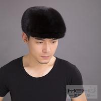 Marten hat Men hat ear protector cap hat fur hat male genuine leather hat male