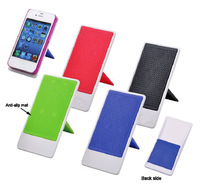 500pcs Simple Mobile Holder white base with colorful anti-slip mat  hold the mobile  Gift  OEM/ODM UT3885I