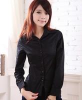 Plus Size S-5XL Women Blouse Blusas Camisas Femininas Casual Shirts Women Work Wear Body Tops Long Sleeve Formal Ladies Blouses