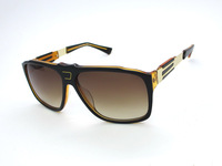 Free shipping new arrival fashion 1:1 all-match brand women's and men's big box sunglasses DS0125