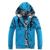 2014 men's cotton hoodies tracksuit moletom Sweatshirts casual men hoody moleton relogio Jackets Coats Free Shipping  654