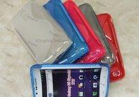 200pcs/Lot TPU S Line Design GEL Case Cover Skin for Samsung i727 Galaxy SII Skyrocket