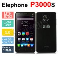 Elephone P3000 P3000S Mobile Phone 4G LTE 3G WCDMA 5.0 inch HD 1280*720 Quad Core 1GB RAM 8GB ROM Android 4.4 OTG BT GPS WIFI