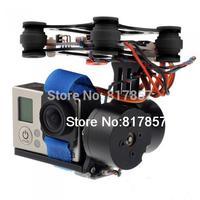 CNC Brushless Gimbal Camera Mount with Motor & Controller FPV PTZ For Gopro 2 3 3+ DJI Phantom ST 303