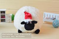 Free shipping 20 cm shaun the sheep toy Christmas hat shaun toys for kids Christmas gift