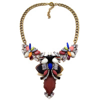 NEW ARRIVE J c Fashion Necklace choker chain chunky pendant statement necklace for women 2014 Jewelry factory price