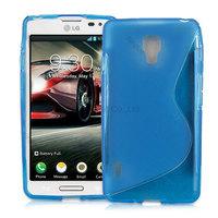 1000pcs/Lot TPU S  Line GEL Case Cover for LG Optimus F7
