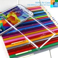 Free Ship IMAK Crystal Hard Case for Sony Xperia M2 Aqua D2403 D2406 retail box