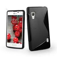 1000pcs/Lot TPU S Line GEL Case Cover for LG Optimus L9 P760