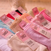 Free shipping 6pcs/lot pastel solid color cotton girls underwear Comfort women clothing intimate panties Cute triangle briefs