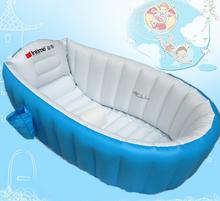 Espessamento inflável bebê banheira XL ambiental crianças recém-nascido criança banheira banho bacia BB155(China (Mainland))
