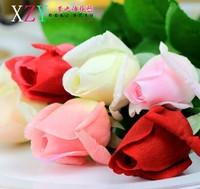 Wholesale 24pcs/lot rose  Artificial Flowers Wedding Home Decorative Flowers Home Decoration Flower(no vase)