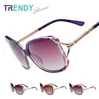 Fashion Eyewear Polarized Sunglasses Women Vintage Sun Glasses V18