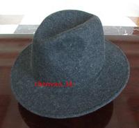 100% Wool Felt hats fedoras 7cm brim 12.5cm height fashion brand luxury men women's winter hat new arrival