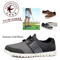 2014 Summer Breathable Cool High Quality Lycra Mesh Men Golf Shoes,Famous Guciheaven 552 Men's Leisure Soft Light Shoes