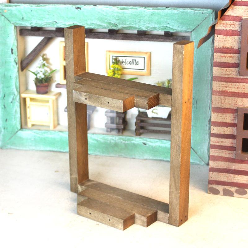 Houten Wandplank Keuken : originele houten rustieke keuken wandplank rekken muur kruidenrek 3