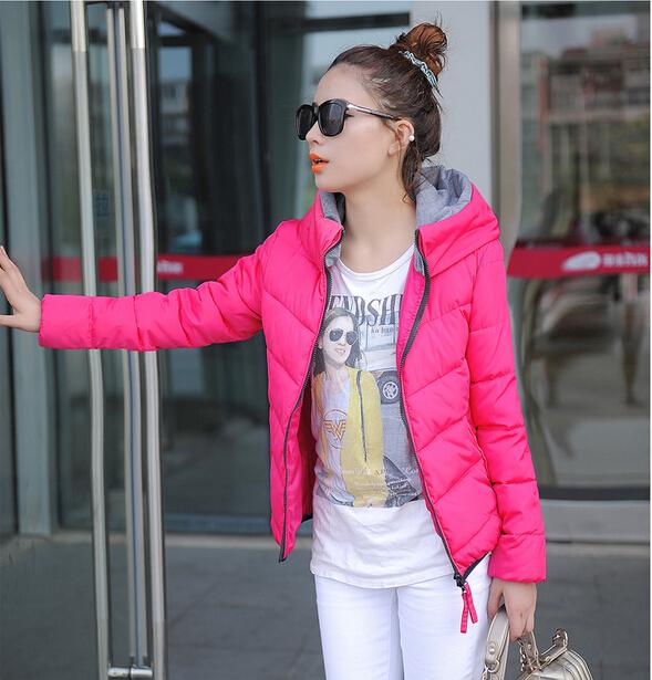 L-4XL Large Size Ladies Fashion Down Coat Autumn Winter Jacket Women Outerwear Winter Coats Women Jackets Overcoat A184(China (Mainland))