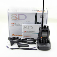 Free shipping WOUXUN KG-UV8D KGUV8D dual band two way radio ham