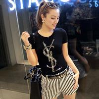 Blusas Femininas 2014 Fashion Long Sleeve Heart Print T Shirt Women Clothing Casual T-Shirt Desigual Sweatshirt Plus Size Tops