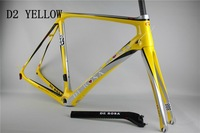 DE rosa 888  yellow Road bike carbon frame full carbon frame size:48/50/52/54/56 cm( colnago c59 ,LOOK695,bh G6 ,Mendiz )