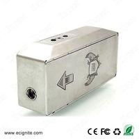 Cool design gi2 box mod gi2 100w mod fashion product in aliexpress